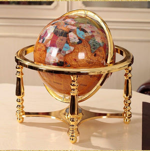 Globe Terrestre Ancien Grand