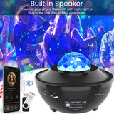 Romantic Colorful Starry Sky Ocean Projector