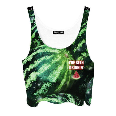 Set 4 Lyfe / Mattaio - WATERMELON CROPTOP - Clothing Brand - Croptop - SET4LYFE Apparel