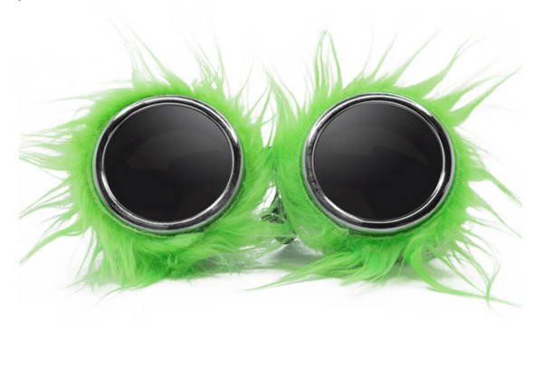 Chrome Sliime Furry Party Animal Goggles