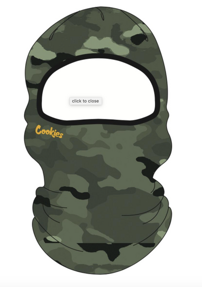 Backcountry Face Mask Knit Beanie W/ Embroidery - 4 Colors