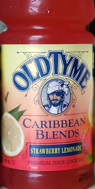 OLD TYME STRAWBERRY LEMONADE JUICE - EXOTIC POP