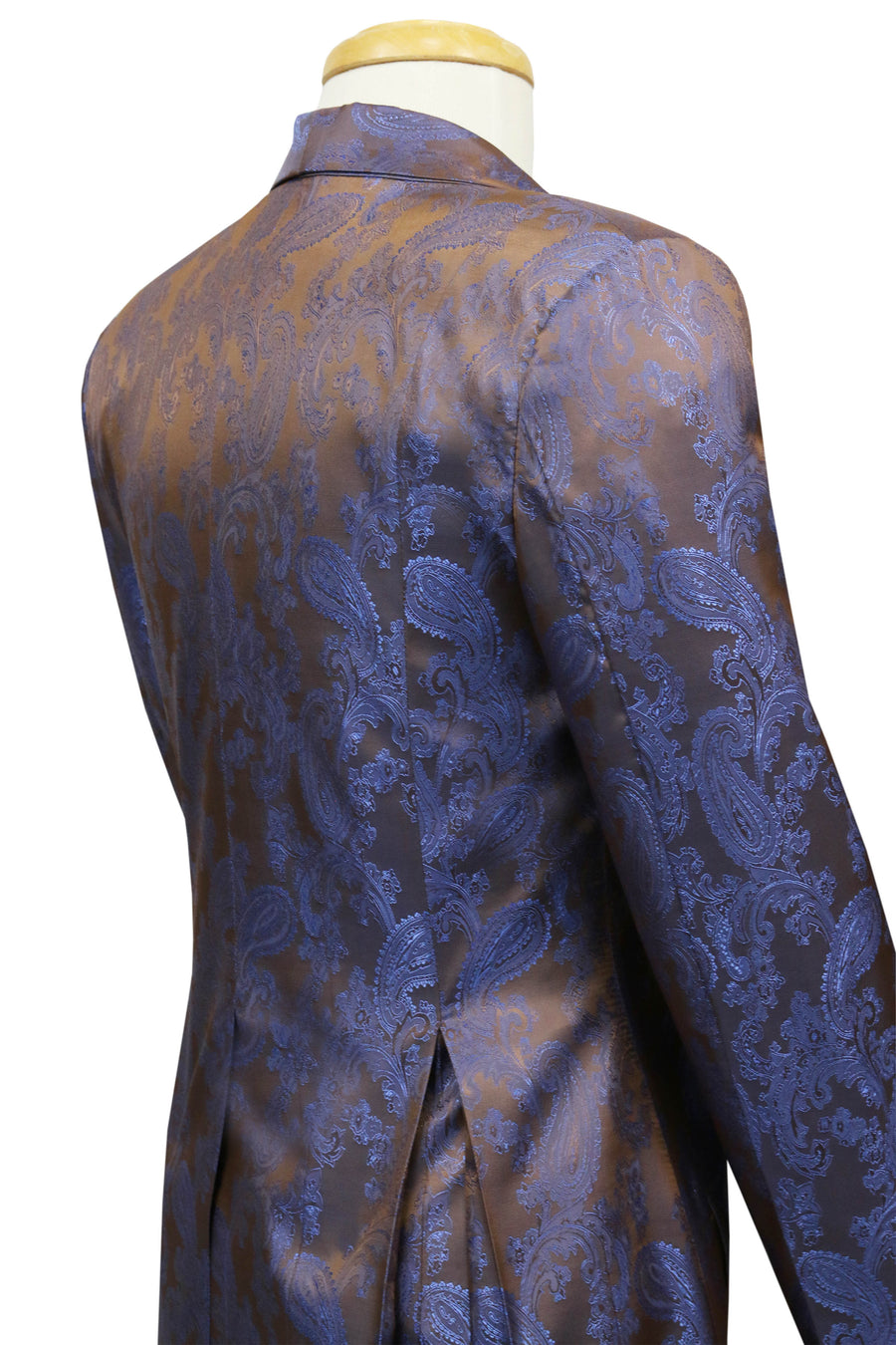 Copper with Royal Paisley Notched Collar