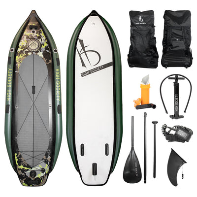 Shadowcaster 11ft fishing and expedition Stand-up Paddle board package