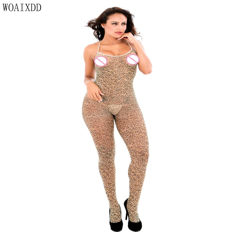 Sexy Body Stocking Fishnet Open Crotch Bodysuit Nightwear Lingerie Sexy Net Nightdress Women Bodystocking эротическое белье