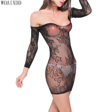 将图片加载到图库查看器,Plus Size Lingerie Sexy Hot Erotic Lingerie For Women Hollow Mesh Teddy Baby Doll Porno Lingerie Fishnet Sex Costumes Underwear