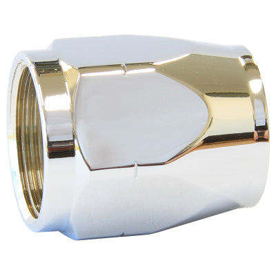 CHROME HOSE END SOCKET CUTTER STYLE FITTINGS ONLY