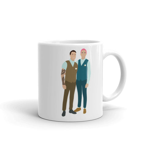 Gay Couple! LGBTQ Husbands! Mug