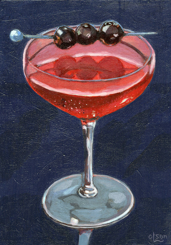 Three Cherry Manhattan