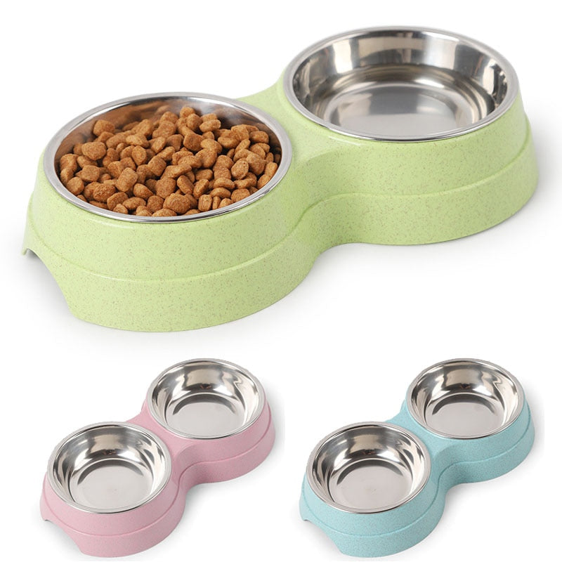 Double Feeding Stainless Steel for Pet