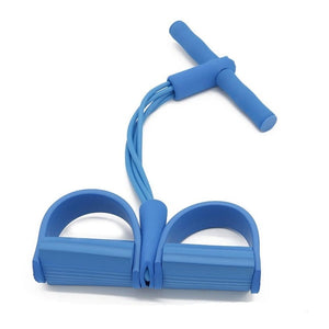 Latex Pedal Exerciser Sit-up Rope
