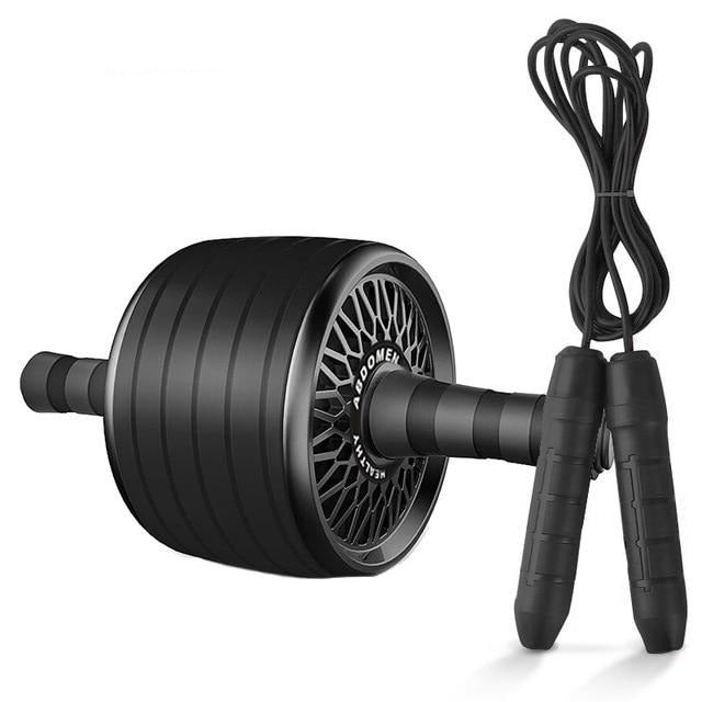 Ab Roller&Jump Rope No Noise