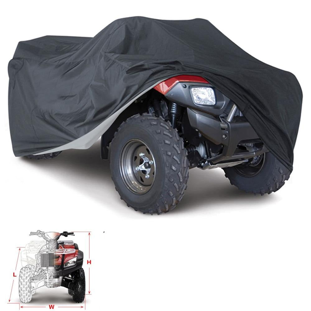 Universal Black  Motorcycle Waterproof Cover
