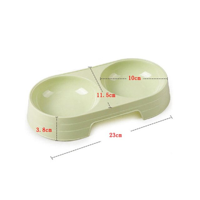 Food Water Feeder Stainless Steel Pet Dish