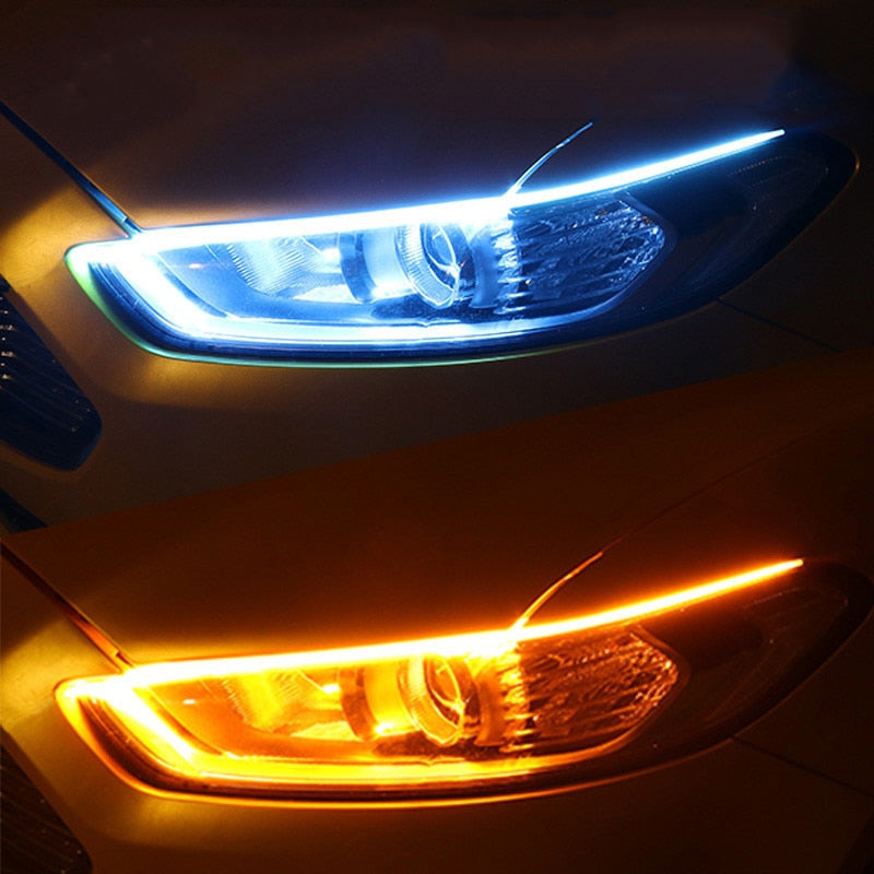 Flexible Waterproof Strip Auto Headlights