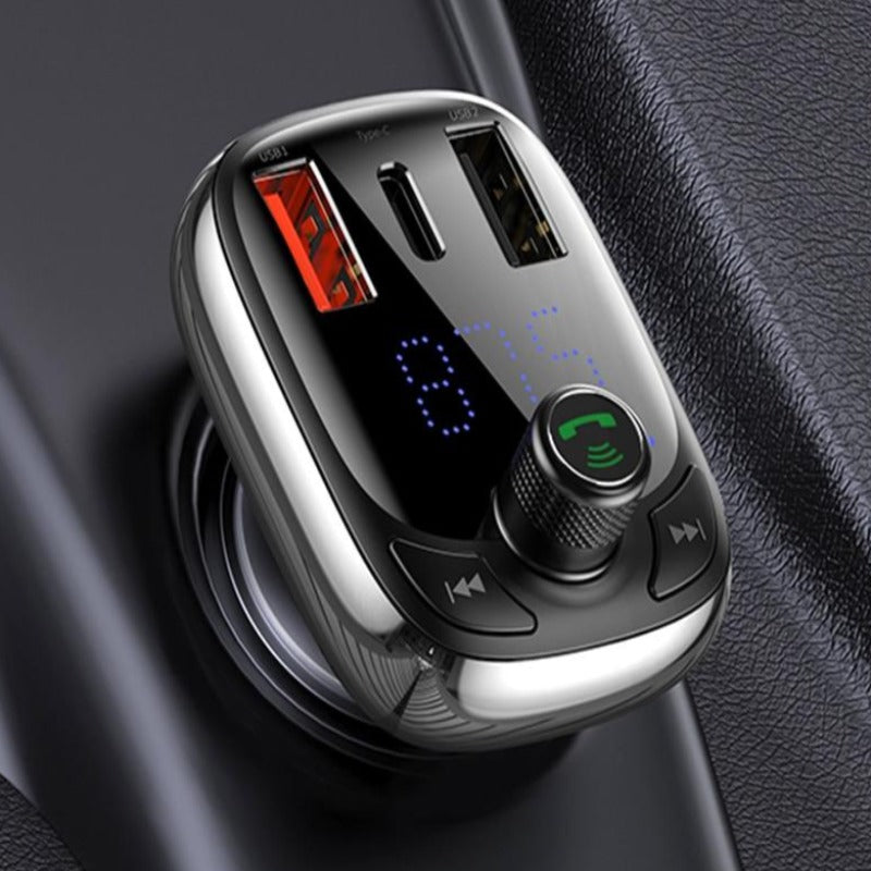 Baseus FM Transmitter Bluetooth