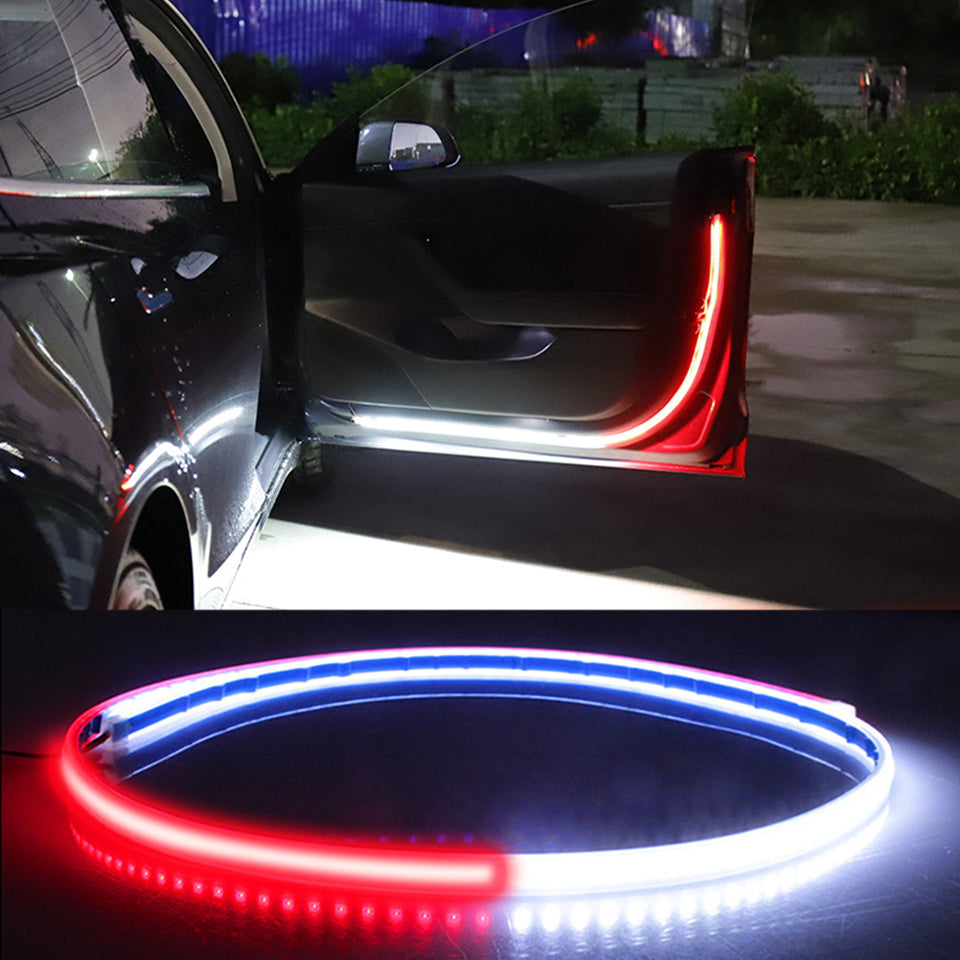 Car Door Opening Warning LED Lights