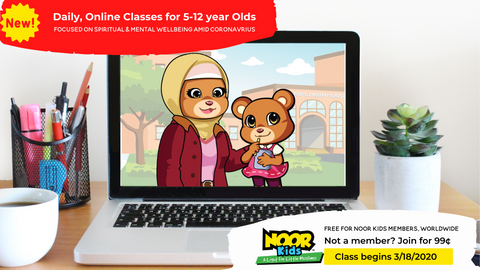 daily online classes amid coronavirus- Noor Kids