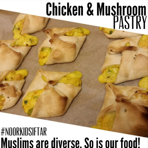 Chicken and Mushroom Pastry