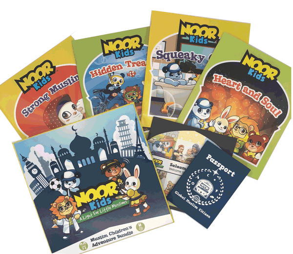 4-Book Noor Kids Box Set