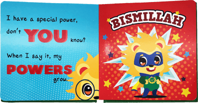 Noor Kids Bismilliah Superhero Book