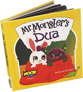 Noor Kids Mr. Monster's Dua Book