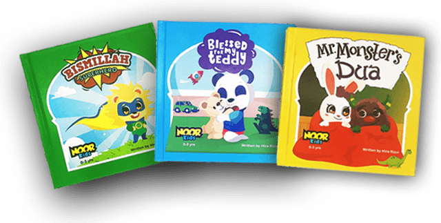Noor Kids Baby Books Bundle