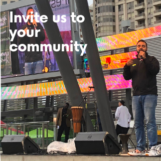 Invite us to your community