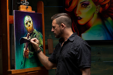 Scott Spillman at work
