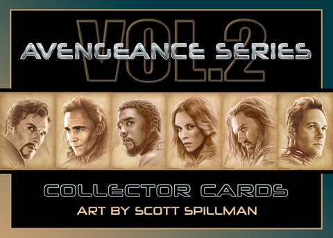 5 X 7 AVENGERS CARD SET - VOL 2