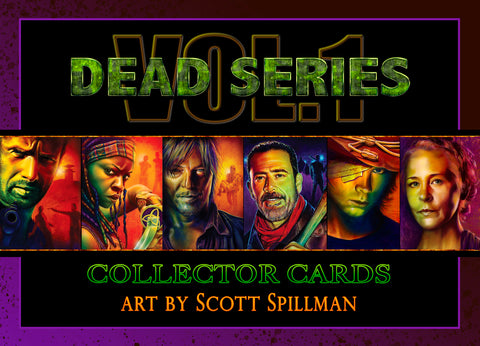 5 X 7 TWD CARD SET - VOL 1