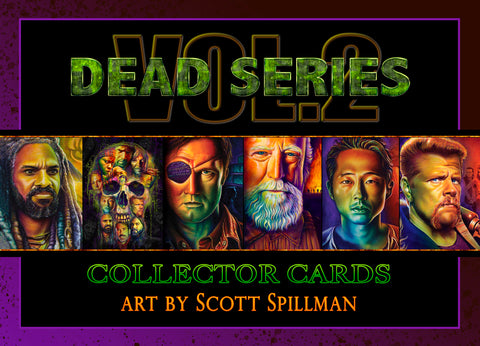 5 X 7 TWD CARD SET - VOL 2