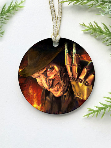 Freddy Krueger Ornament