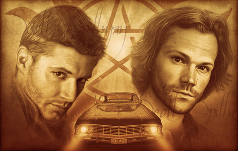 Both SAM & DEAN Prints