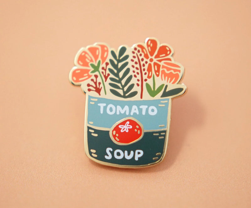 Tomato Soup Can Pin