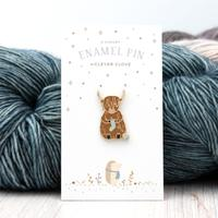 Knitting Yak Pin