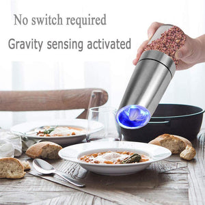 Stainless Steel Electric Salt Pepper Grinder
