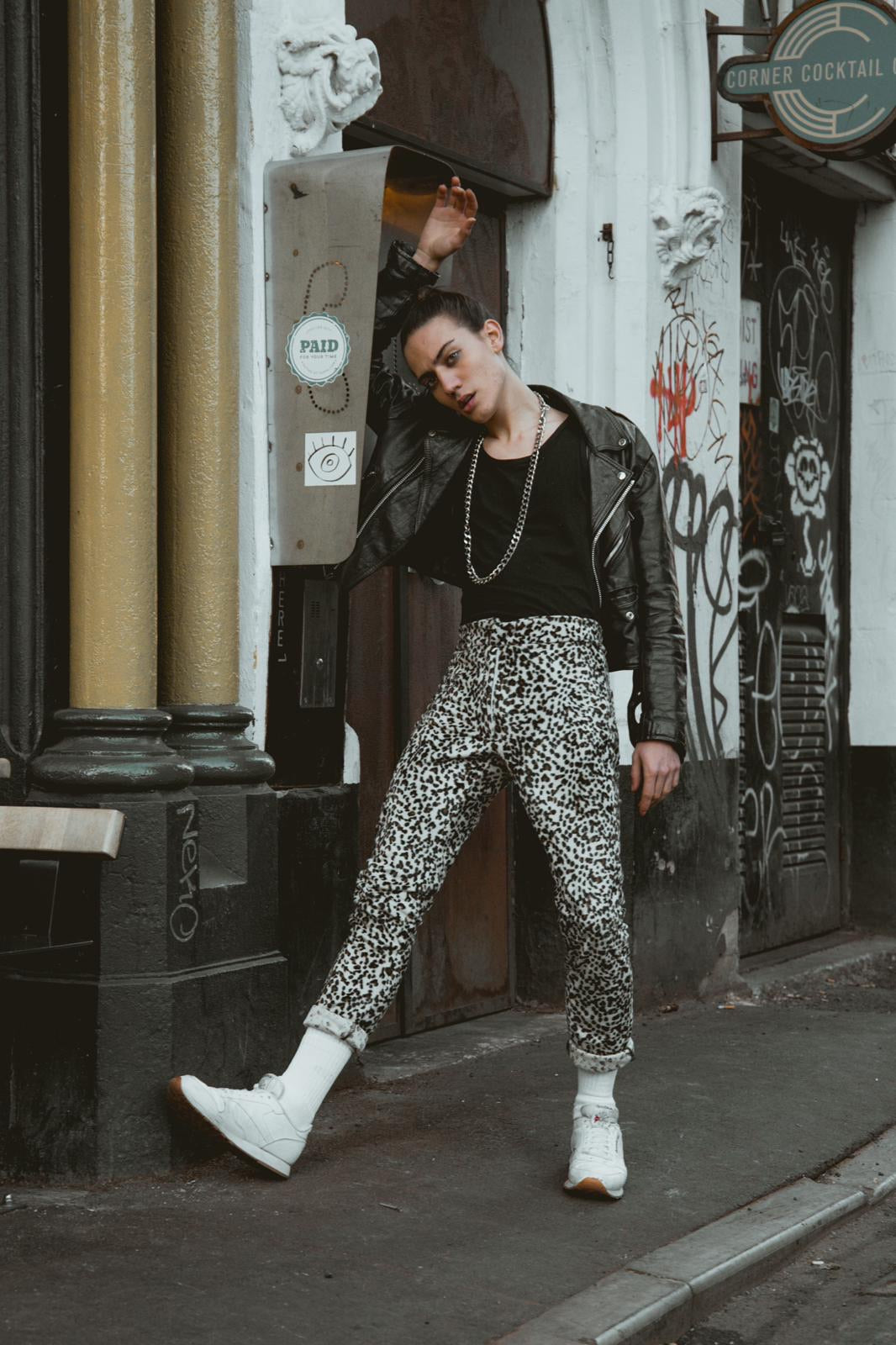 LUST FOR LIFE (Unisex, Leopard Print Trousers)