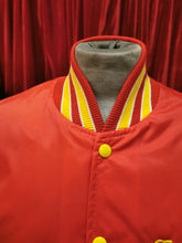 "Load image into Gallery viewer, Red & Yellow 1980s ""Tammy"" Embroidered Varsity Sports Jacket"