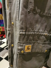 Load image into Gallery viewer, Vintage 1980s Distressed Carhartt Chore Workwear XL Jacket