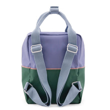 Indlæs billede til gallerivisning Sticky Lemon rygsæk product backpack small colour blocking moustafa purple henckles bagfra 1801394