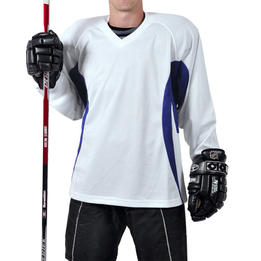 Firstar Arena 2-Tone Hockey Jersey (White/Royal)