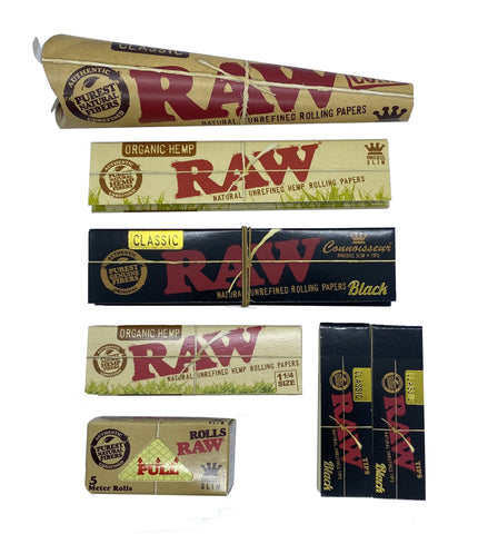 RAW Rolling Paper Bundle