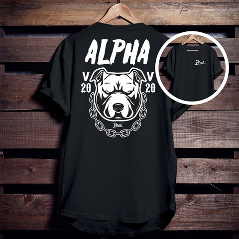 Alpha Viral 'double sided' Tee