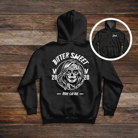 Bitter Sweet 'double sided' Hoodie