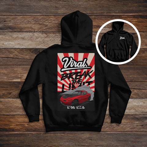 BREAK THE LIMIT 'double sided' Hoodie