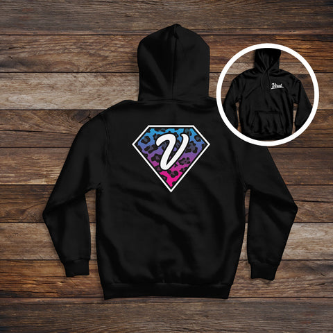 Diamond 'double sided' Hoodie