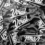 Viral camo sticker
