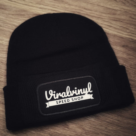 Viral black beanie hat (5 designs)