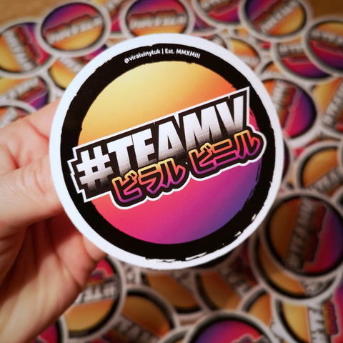 TEAMV Jap sticker,